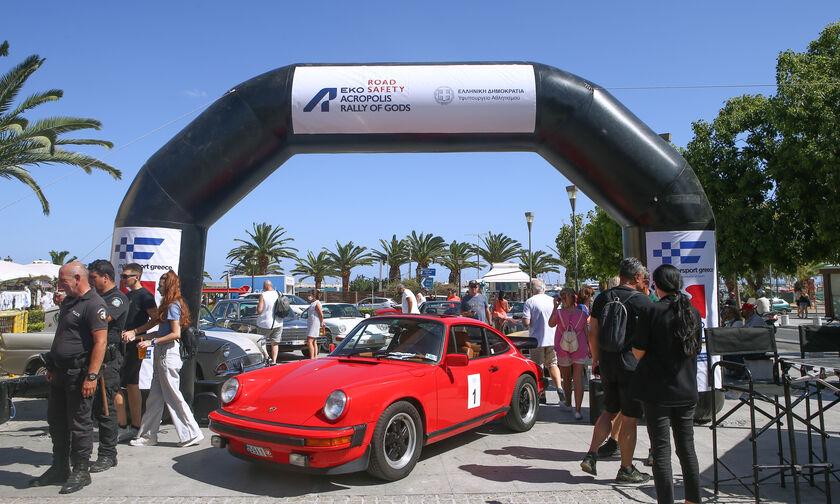 Το ΕΚΟ Ράλλυ Ακρόπολις προωθεί την καμπάνια «Road Safety»