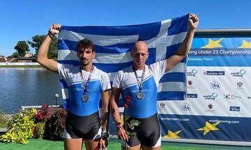 Ευρωπαϊκό Πρωτάθλημα Κωπηλασίας Κ23: Η Ελλάδα κατέκτησε τρία μετάλλια