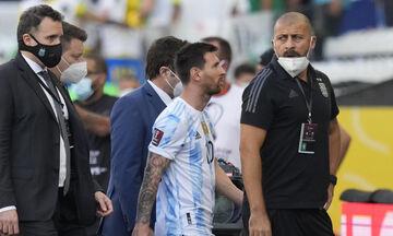 Βραζιλία-Αργεντινή: Εισβολή αστυνομικών στον αγωνιστικό χώρο για να συλλάβουν 4 παίκτες! (vid)