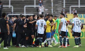 Στη FIFA ο φάκελος με την διακοπή του Βραζιλία – Αργεντινή