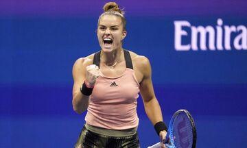 US Open: Μεγάλη νίκη η Σάκκαρη σε συγκλονιστικό ματς με την Αντρεέσκου-Στα προημιτελικά με Πλίτσκοβα