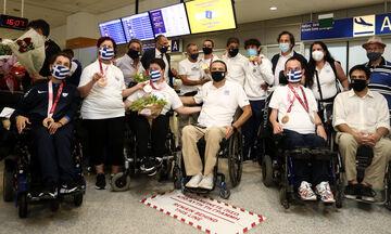 Παραολυμπιακοί Αγώνες: Επέστρεψαν και τα τελευταία μέλη της ελληνικής αποστολής (vid)