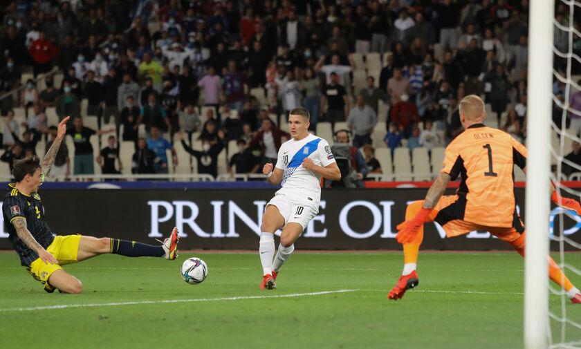 Ελλάδα-Σουηδία 2-1: Τζολης: «Ήθελα να παίξω και με το Κόσοβο»