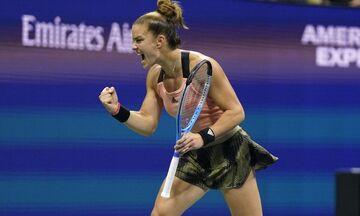 Μαγική Σάκκαρη! Η πρώτη Ελληνίδα που φτάνει στα ημιτελικά του US Open!