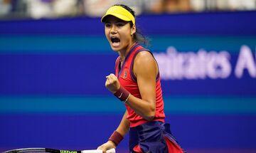 US Open: Εκπληκτική η 18χρονη Ραντουκάνου απέκλεισε την Σάκκαρη από τον τελικό (2-0 σετ)