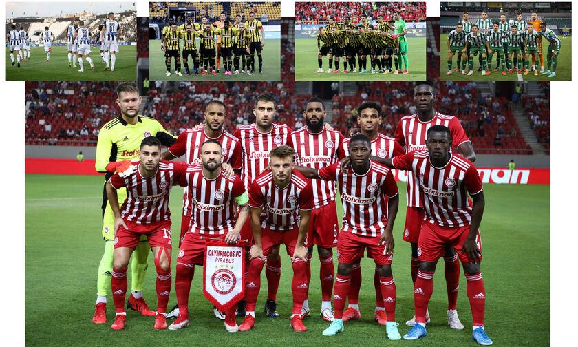 Super League: Η «χρηματιστηριακή» αξία των 14 ομάδων