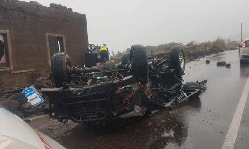 Σικελία: Δύο νεκροί και εννέα τραυματίες από ανεμοστρόβιλο στο νησί Παντελερία