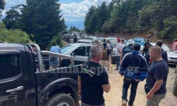 Ράλι Ακρόπολις: Κόσμος εγκλωβίστηκε στα βουνά της Φθιώτιδας (pic)