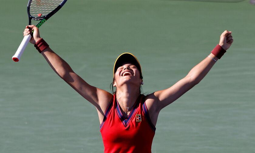 US Open: Σαρωτική Ραντουκάνου, πήρε τον τίτλο χωρίς να χάσει σετ!