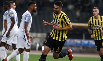 ΑΕΚ - Ιωνικός 3-0: Γκολ και φάσεις από τον αγώνα (vids)