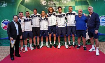 Τένις: Με Τσιτσιπά αναχωρεί η Εθνική για το Ηράκλειο και τον αγώνα με τη Λιθουανία στο Ντέιβις Καπ