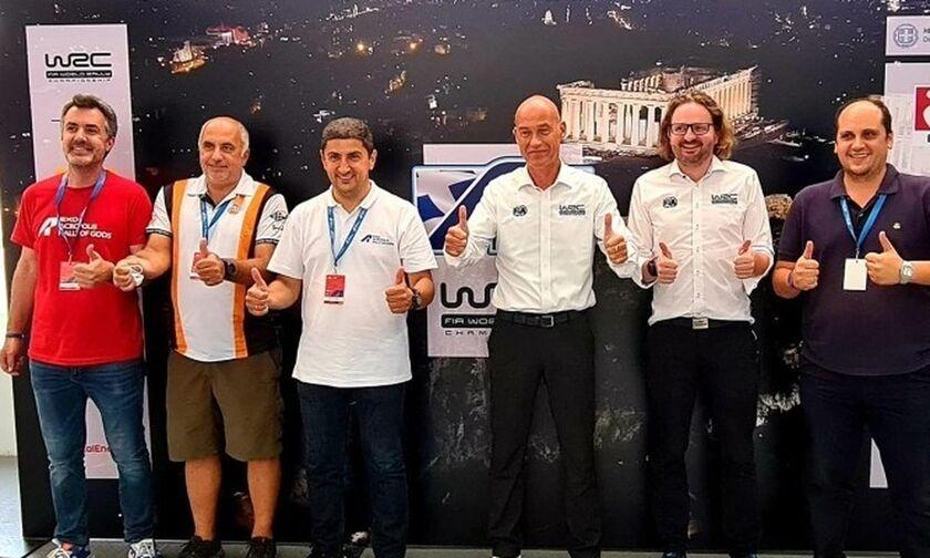 Απόλυτα ικανοποιημένοι οι αξιωματούχοι του WRC από το Ράλι Ακρόπολις