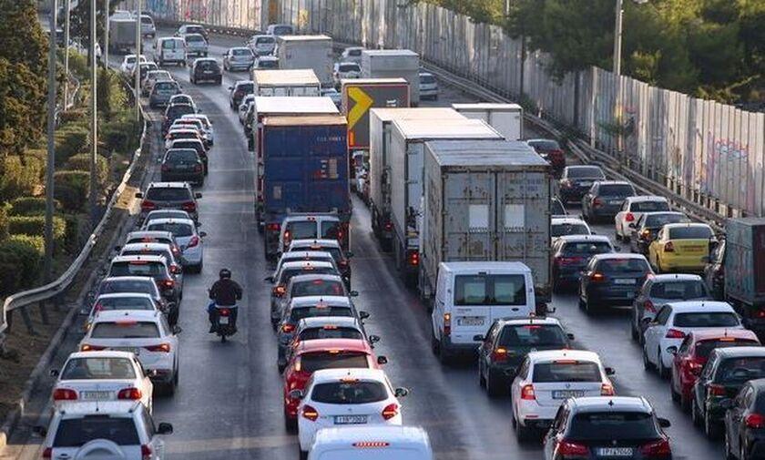 Κίνηση στους δρόμους: Στα «κόκκινα» πολλές περιοχές - LIVE ΧΑΡΤΗΣ