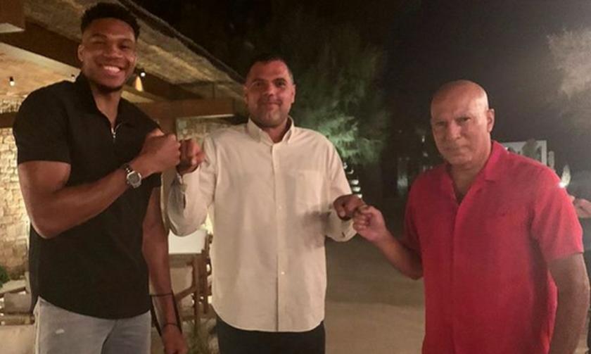 Παπανικολάου: «Για αυτό επεδίωξα συνάντηση Γκάλη και Αντετοκούνμπο»
