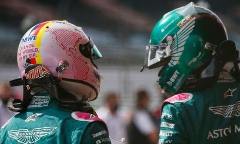 Aston Martin: Με Φέτελ και Στρολ και τη νέα σεζόν
