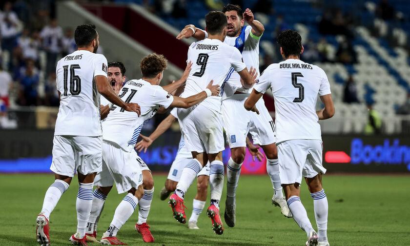 FIFA Ranking: Άνοδος δύο θέσεων για την Ελλάδα
