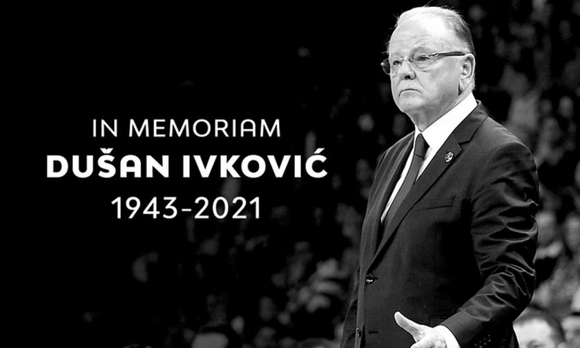 EuroLeague για Ίβκοβιτς: Το legacy του θα ζει για πάντα στο ευρωπαϊκό μπάσκετ» (vid)