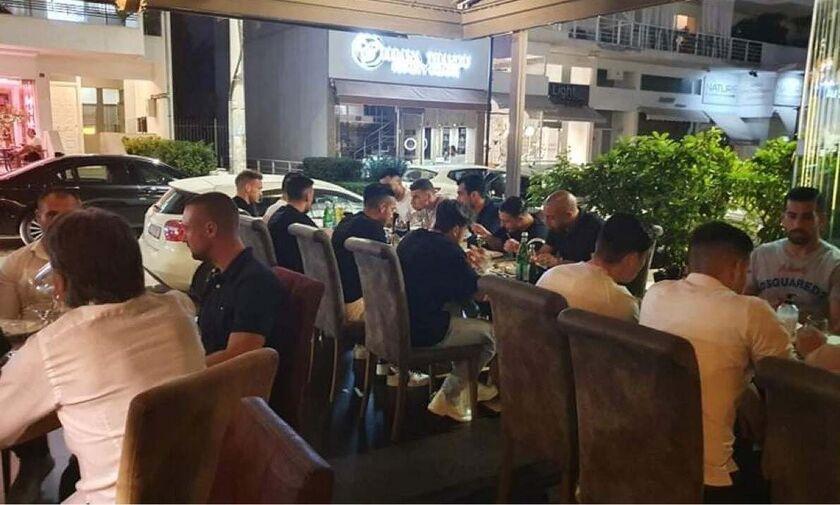 ΑΕΚ: Δείπνο του Μιλόγεβιτς, παρουσία Μελισσανίδη (pics)