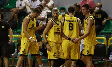 Κύπελλο Ελλάδας μπάσκετ: Πέρασε στη Β΄ Φάση το Μαρούσι, 75-60 τον Αμύντα!