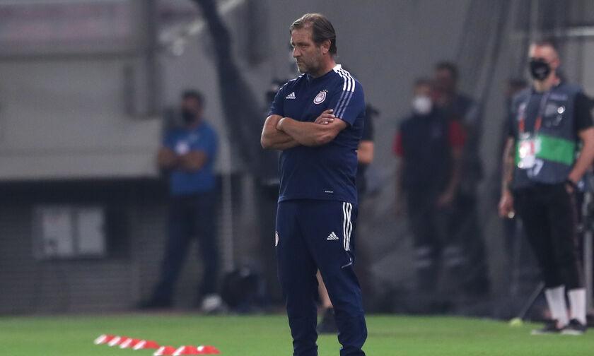 Ολυμπιακός-Αντβέρπ 2-1: Μαρτίνς: «Όμορφη βραδιά, αξίζαμε τη νίκη, αποπροσανατολίστηκε ο Γιαν» (vid)