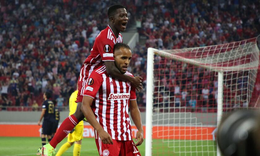 Ολυμπιακός-Αντβέρπ 2-1: Ελ Αραμπί: «Αφιερώνω το γκολ στην οικογένεια μου»