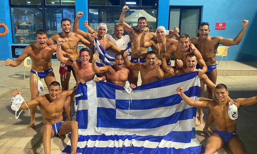 Εθνική εφήβων πόλο: Νίκη και με Ισπανία (11-8) και στον τελικό με Σερβία! (vid)