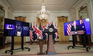 AUKUS: Μπαράζ ανακοινώσεων κατευνασμού της Γαλλίας από ΗΠΑ - Αυστραλία