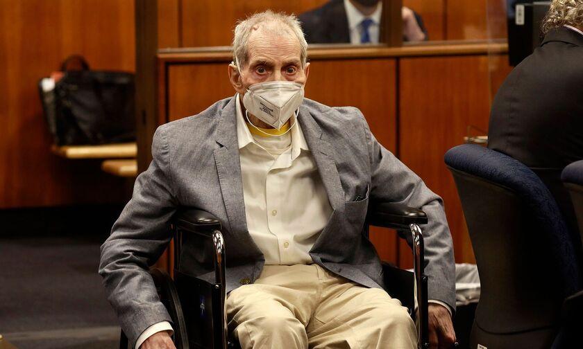 Ρόμπερτ Νταρστ: Ισόβια κάθειρξη στον μεγιστάνα για τον φόνο της καλύτερής του φίλης