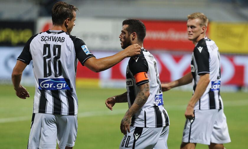 Αστέρας Τρίπολης – ΠΑΟΚ 0-1: Αγχωτική νίκη από την … άσπρη βούλα και ήρωα τον Πασχαλάκη