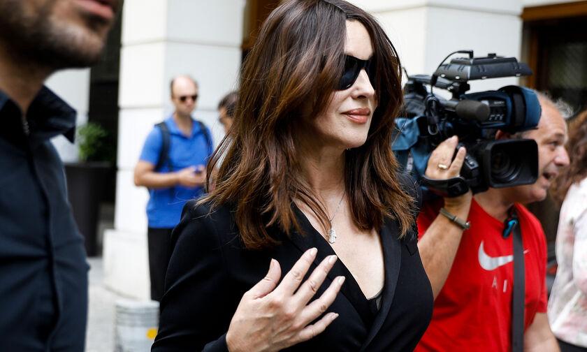 Μόνικα Μπελούτσι: Έτοιμη για τις εμφανίσεις της στο Ηρώδειο όπου θα ενσαρκώσει τη Μαρία Κάλλας (vid)