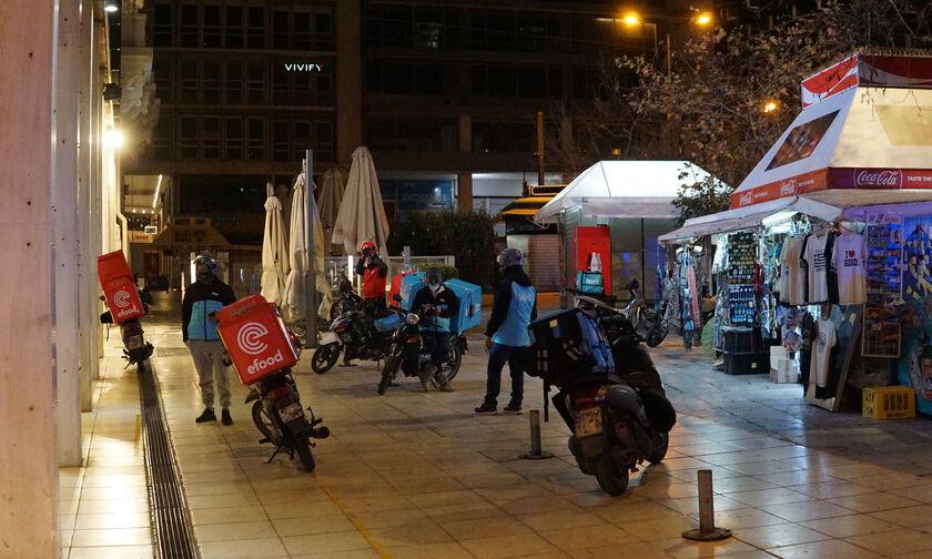 Efood: Στάση εργασίας και μοτοπορεία την Τετάρτη οι διανομείς (vid)