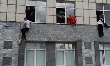 Ρωσία: Οκτώ νεκροί από πυροβολισμούς σε πανεπιστήμιο - Φοιτητές πηδούσαν από τα παράθυρα (vid)