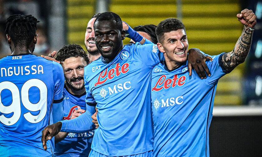 Serie A: Στην κορυφή με «τεσσάρα» η Νάπολι