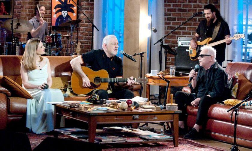 ΕΡΤ1 - Μουσικό Κουτί: Νίκος Πορτοκάλογλου και Ρένα Μόρφη υποδέχονται τον θρύλο της ροκ Eric Burdon