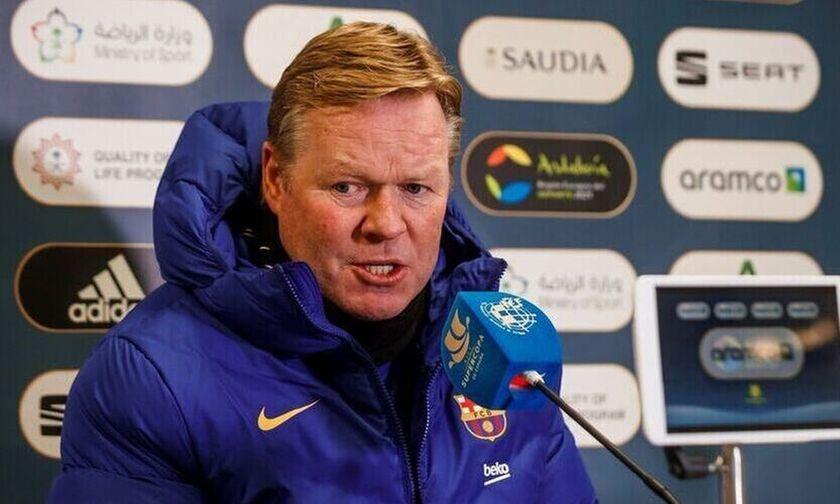 Κούμαν: «Σε κατάσταση ανοικοδόμησης η Μπαρτσελόνα. Μην περιμένετε θαύματα στο Champions League»