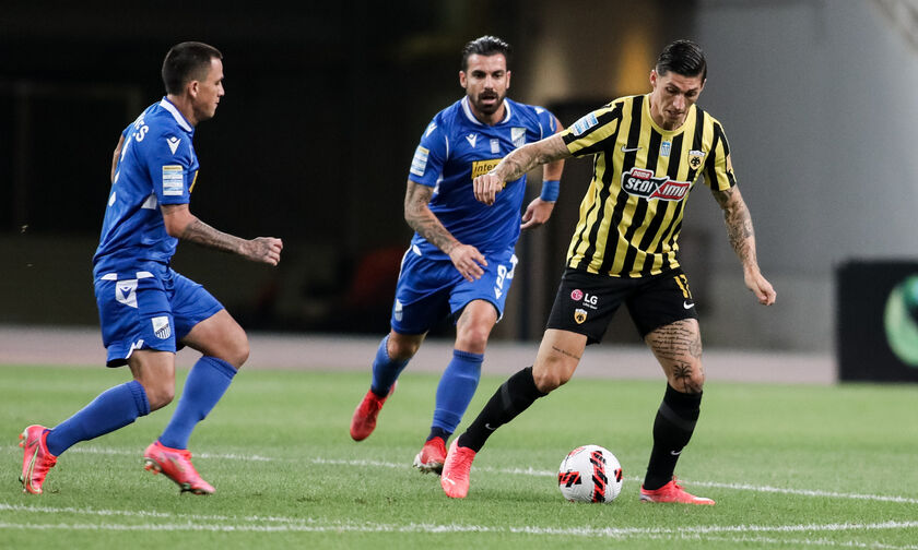 ΑΕΚ – Λαμία 1-0: Μανούσος: «Βγάλαμε ένα δύσκολο πρόγραμμα, σημαντικό ματς με Παναιτωλικό» (vid)