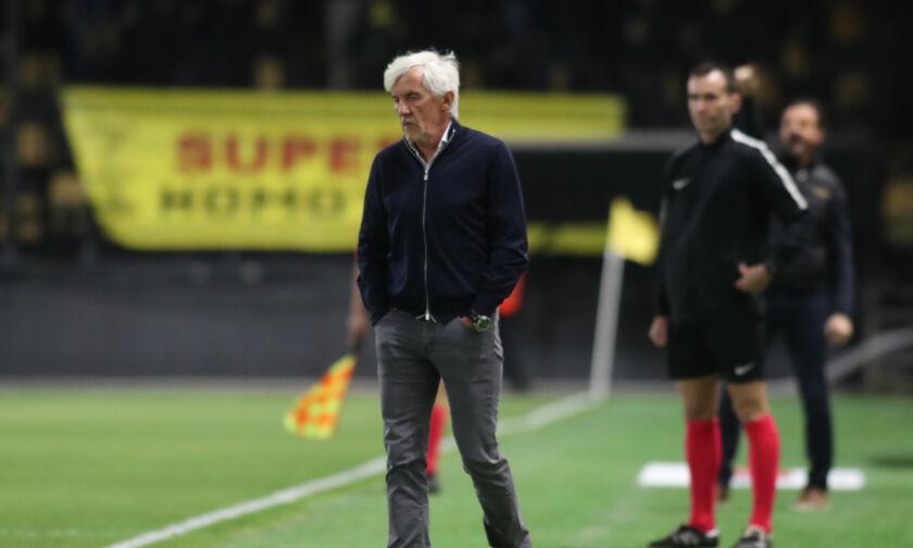 Άρης-Παναθηναϊκός 1-0: Γιοβάνοβιτς: «Μας πληγώνουν οι δύο ήττες»