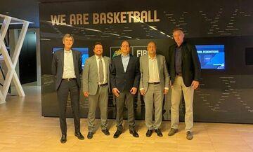 Στην έδρα της FIBA στη Γενεύη ταξίδεψε ο Λιόλιος