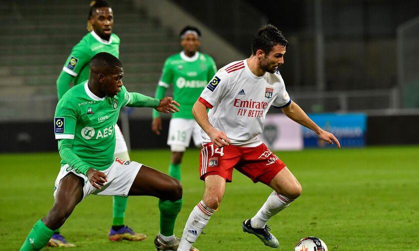 Ligue 1: Χωρίς φιλάθλους η Λιόν στο ντέρμπι με την Σεντ Ετιέν