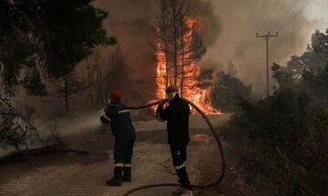 Φωτιά στο Διδυμότειχο από βολές του Παρμενίωνα