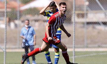 Super League K19: Ο Ολυμπιακός νίκησε στο φινάλε τον Αστέρα Τρίπολης με 1-0