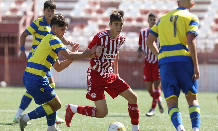 Super League K17: Ο Ολυμπιακός νίκησε άνετα τον Αστέρα Τρίπολης με 4-0