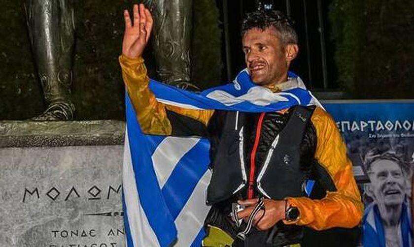 «Σπάρταθλον»: Νικητής ο Ζησιμόπουλος στον αγώνα των 246 χιλιομέτρων