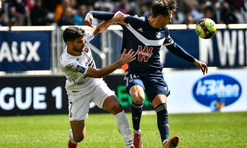 Ligue 1: Στο παρά ...δύο γλίτωσε την ήττα η Μπορντό (1-1) κόντρα στη Ρεν!