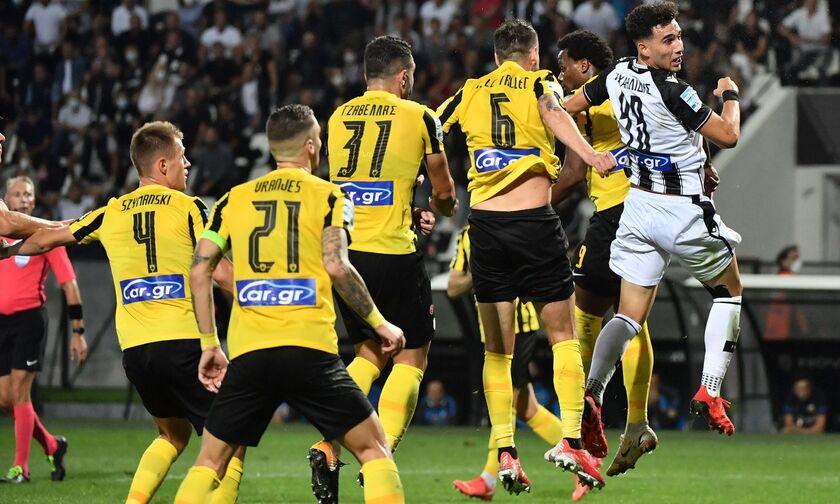 ΠΑΟΚ - ΑΕΚ 2-0: Τα γκολ και οι φάσεις από την αναμέτρηση (vid)