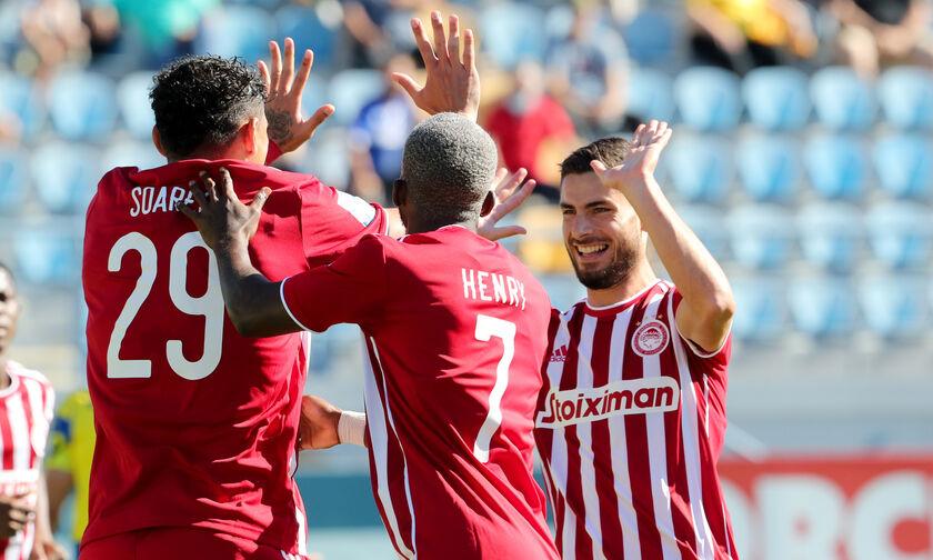 Τα highlights του Αστέρας Τρίπολης - Ολυμπιακός 0-2 (vid)