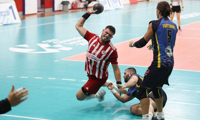 Handball Premier: Άνετη νίκη για τον Ολυμπιακό επί του Άρη Νίκαιας με 35-25