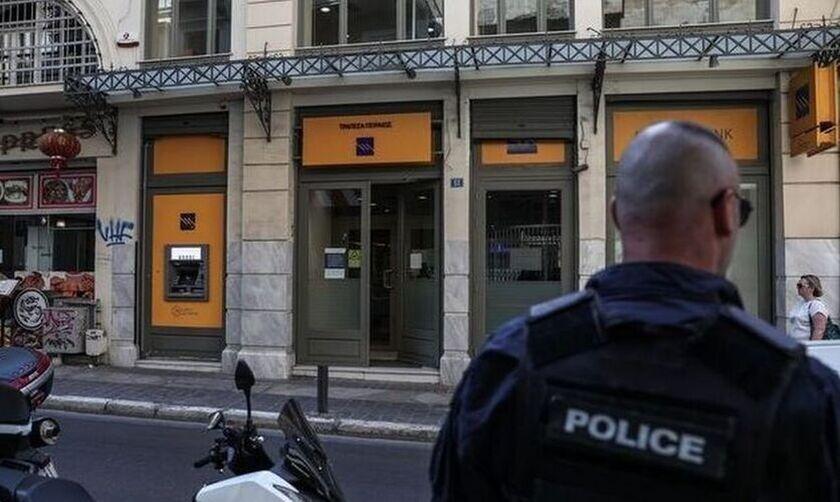 Συνελήφθη ένας εκ των ληστών της τράπεζας στη Μητροπόλεως