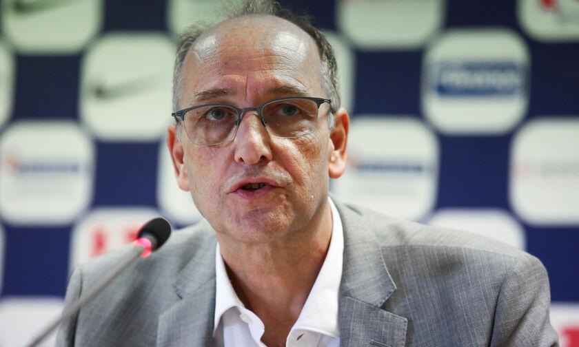 Λιόλιος: «Πρόθεσή μου για την Εθνική ο Ιτούδης, θα κάνει κάτι μεγάλο ο Σπανούλης»