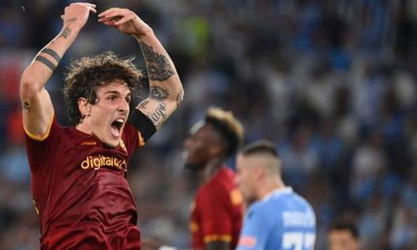 Ρόμα: Μόνο πρόστιμο στον Τζανιόλο για τη χειρονόμία του στους οπαδούς της Λάτσιο μετά το ντέρμπι...